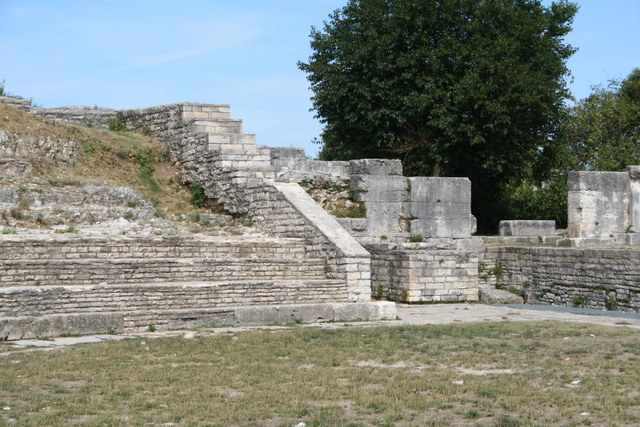 Das kleine Theater von Pula