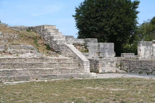 Das kleine Theater von Pula