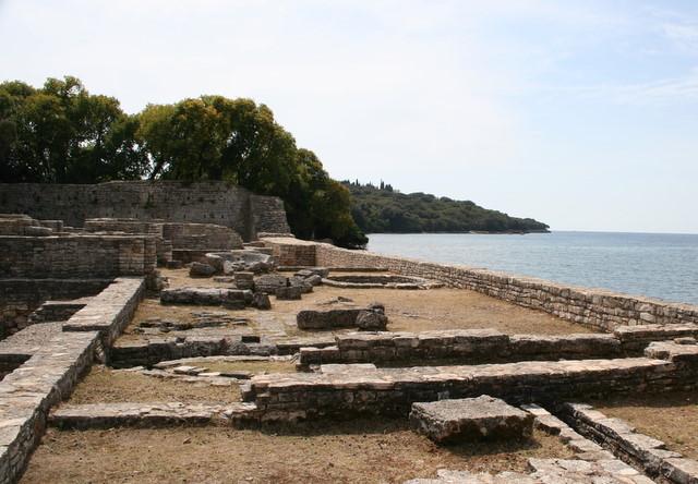 Villa Rustica auf den Brioni-Inseln