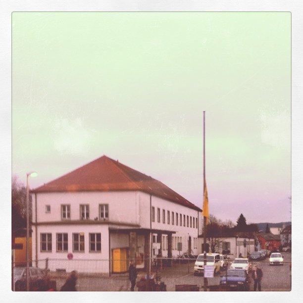 Das Postamt Forchheim in 1930er-Jahre-Farben aufgenommen. Mit Instagram braucht man dafür nur das passende Wetter und ein paar Klicks.