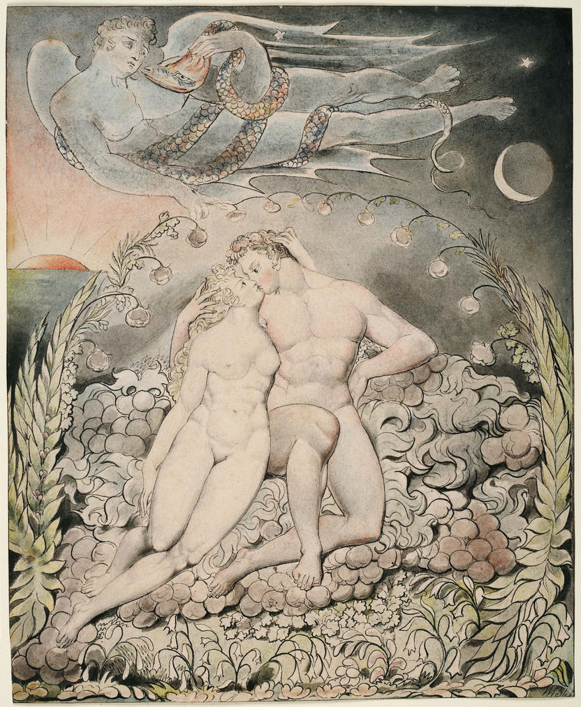 William Blake, Adam and Eve